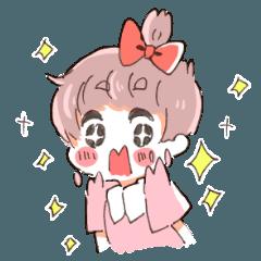 りぼんちゃんスタンプ