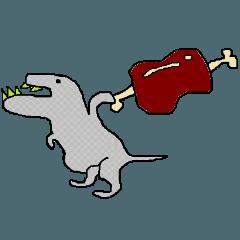 [LINEスタンプ] カラフルザウルス