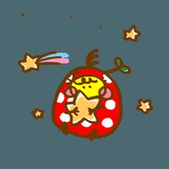 [LINEスタンプ] キノコの種 P太郎