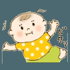 0歳児ママの育児スタンプ