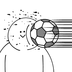 サッカーが大好きだから